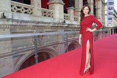 Rebecca Ferguson, Red Dress
