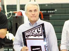 @idahostateu's Teichert Named Big Sky Volleyball Coach of the Year