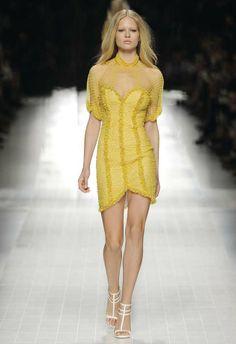 Bettie Page style - Blumarine Spring Summer 2014 Fashion Show #mfw