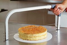 Cake leveler & slicer