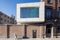 Centre of Design Mons Belgium Matador Architects