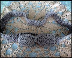 Precious Crochet Bow Belt