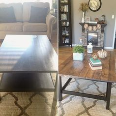 Ikea Hemnes coffee table hack diy