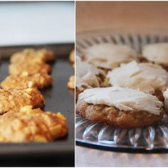 Apple Cinnamon Oatmeal Cookies with Browned Butter Frosting
