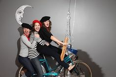 paris photobooth | Photo from photobooth - Paris-themed going-away party. Very cool idea ...