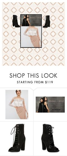 """K+K"" by claudika on Polyvore featuring Kendall + Kylie"
