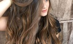 Balayage Highlights for Dark Brown Hair