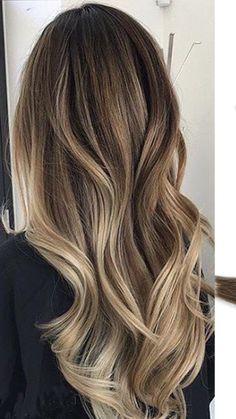 Cabelo Ombre Hair, Balayage Hair, Ash Blonde Hair Dye, Dark Hair, Midi Hair, Best Hair Straightener, Ombré Hair, Hair Color And Cut, Pinterest Hair