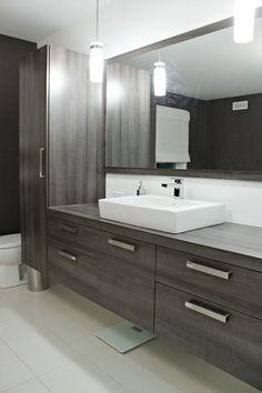 44 Unique Sink Concept That You Have to Try Large Bathrooms, Small Bathroom, Master Bathroom, Bathroom Ideas, White Bathroom, Modern Bathroom, Armoire Design, Bathroom Design Inspiration, Basement Bathroom