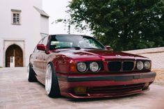 #BMW_E34 #Slammed #Stance #Lowered