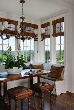 kitchen window seat - Google Search