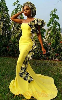 Vol Top 100 AsoEbiBella Style und EB Fabulous Look Style get Ankara Dresses Latest African Fashion Dresses, African Print Fashion, Africa Fashion, African Prints, African Attire, African Wear, African Dress, African Clothes, Fashion Models