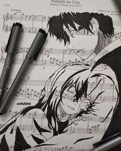 """Your Lie in April - oofshimi: """"was i able to live inside your heart? Manga Anime, Sad Anime, Fanarts Anime, Me Me Me Anime, Anime Guys, Anime Art, Anime Triste, Your Lie In April, Illustration"""