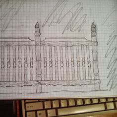 Ciesielstwo-Sztukatorstwo – Google+Rysunek odręczny. Prototyp  wykonanych przeze mnie balustrad w Krakowianach...