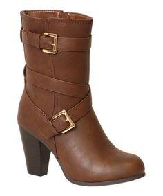 Look at this #zulilyfind! Brown London Boot #zulilyfinds