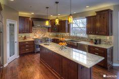 Kitchen - Alder Cabinets