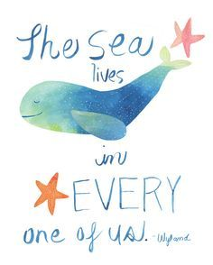 whale quotes for baby nursery - Google Search
