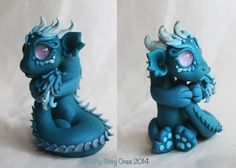 Bitty Bitey Baby Teal Tail Holder by BittyBiteyOnes.deviantart.com on @DeviantArt