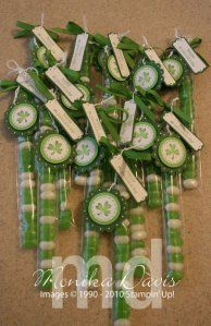 St. Patrick's Day Jelly Bean Treat Bags