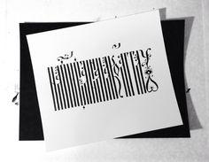 vyaz calligraphy on Typography Served