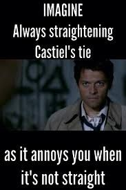 Castiel really.... He saying yes my abilities are rusty 😂😂 .... Laughing with each other