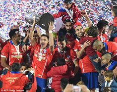 Copa America 2015 Final REPORT Chile 0-0 Argentina (aet, Chile win 4-1 on pens): Alexis Sanchez nets winning penalty as Lionel Messi loses another final | Daily Mail Online