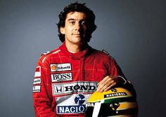 Racing legend Ayrton Senna
