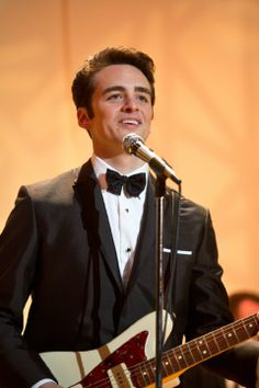 Vincent Piazza in Jersey Boys. I couldn't stop looking at him!