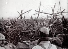 Anatole Kaletsky: World War I - The trenches, in which soldiers spent most of their time, were surrounded by razor wire to limit the effectiveness of an enemy trying to overrun the position.