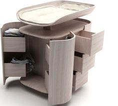 Modern Changing Table For Bedroom