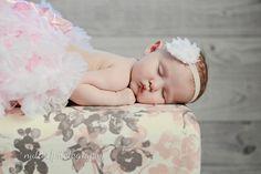 White Baby Headband Baby Girl by CountryBabyHandmade, $3.99