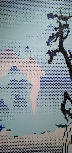 Landscape with Philosopher | Roy Lichtenstein | 1996