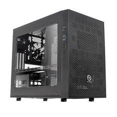 Thermaltake Core X1 Mini ITX Case - Window - CA-1D6-00S1WN-00 - Scan.co.uk