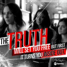The poor girls...   Pretty Little Liars Quotes