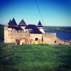 Хотинська фортеця / Khotyn Fortress in Хотин, Чернівецька обл.