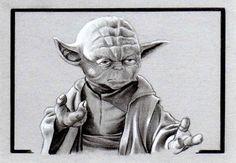 Yoda Sketch Card by DonMonroeArtStudio on DeviantArt