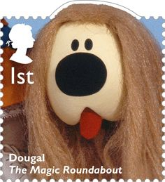 Classic Children's TV 1st Stamp (2014) Dougal - The Magic Roundabout