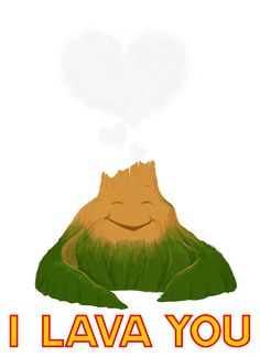 Only Pixar can make me have feels over two volcanos