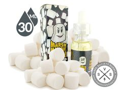 Marshmallow Man! by Donuts E-Juice 30 ml is a smooth, creamy vape with undertones of fluffy marshmallows.