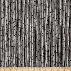 Snowscapes Birch Texture/ Knock On Wood Tan from Designed by Camilla Cates for Blank Quilting, this cotton print fabric is perfect for quilting, apparel and home decor accents. Colors include black, grey and tan. Vinyl Fabric, Grey Fabric, Wall Fabric, Chalet Chic, Knock On Wood, Function Room, Asian Decor, Nature Prints, Fabric Shower Curtains