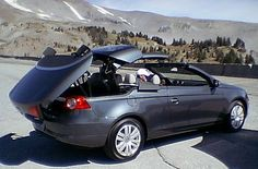 Volkswagen Eos like mine but better scenery