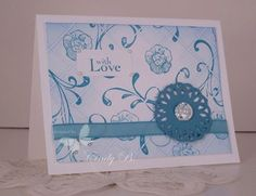 Faux tile, Stampin' Up! handmade cards, cards