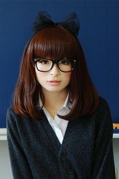 Kyary Pamyu pamyu <3  cute glasses and makeup