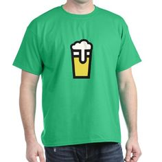 Beer Head T-Shirt on CafePress.com