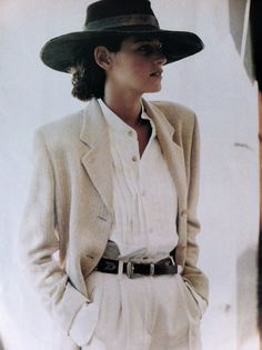 Love the laid-back, inherent style in this vintage editorial image