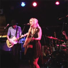 Emily performing at Club Cafe on May 12th during the 'This is War' tour - Pittsburgh