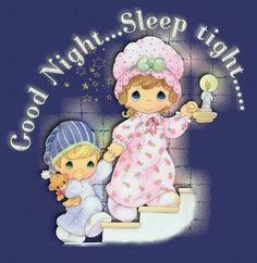 Precious moments goodnight
