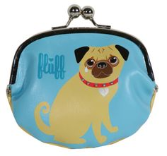 Genuine Leather change purse :Pug Design or Poodle Design available Baby Blue Background, Cute Coin Purse, Cute Pugs, Pug Love, Change Purse, Cute Gifts, Poodle, Your Dog, Product Launch