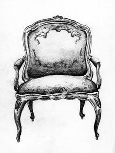 Fauteuil sketch - Andrea Andert