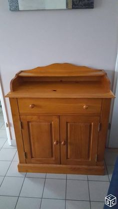 commode Authentic style pin anglais